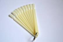 Палитра веер для лаков и дизайна матовая 50 шт