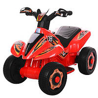 Детский толокар-мотоцикл М 3560 E-3: 6V, 18W, EVA - КРАСНЫЙ - купить оптом