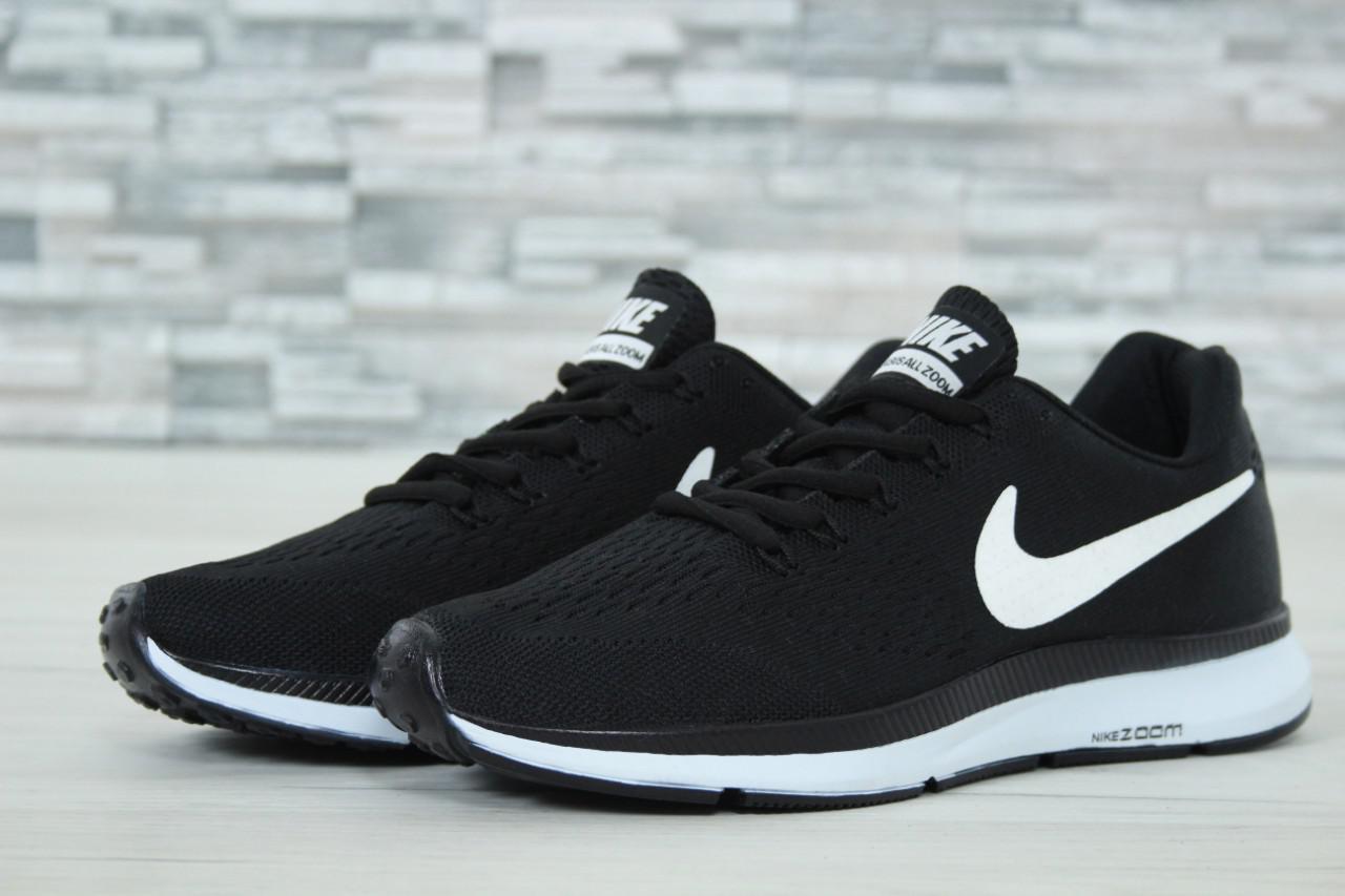 ee394ac5 Кроссовки мужские Nike Zoom черно-белые топ реплика - Интернет-магазин  обуви и одежды