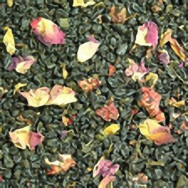 Зелений ароматизований чай «Суниця з вершками»