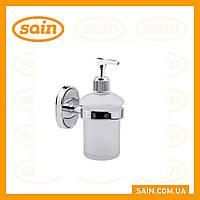 Дозатор для жидкого мыла стеклянный, фото 1