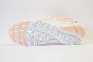 Кроссовки текстильные персиковые Sopra 11, фото 3