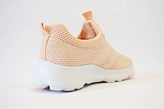 Кросівки текстильні персикові Sopra 11, фото 2