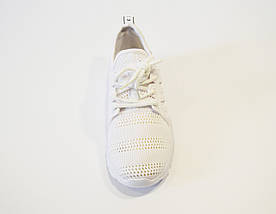 Кроссовки текстильные белые Sopra 07, фото 2