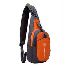 Велосипедная сумка, рюкзак через плечо (велосумка), фото 2