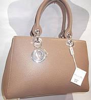 Женская сумка 98368 Бежевый Брендовые женские сумки, сумки бренд купить в Одессе 7 км
