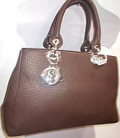 Женская сумка 98368 Кофе Брендовые женские сумки, сумки бренд купить в Одессе 7 км
