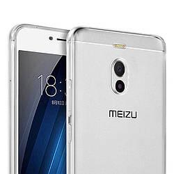 Прозрачный Чехол Meizu M6 Note (ультратонкий силиконовый) (Мейзу М6 Ноут Ноте)