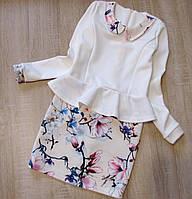 Детское платье р. 134-152 Моника