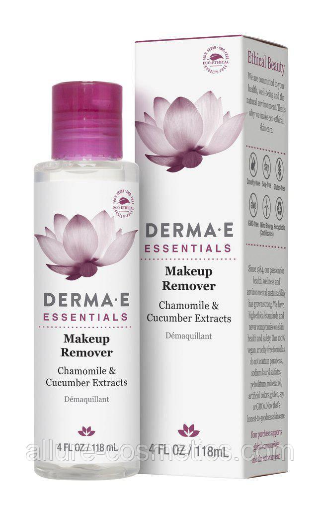 Derma E, Средство для удаления макияжа с ромашкой и экстрактом огурца