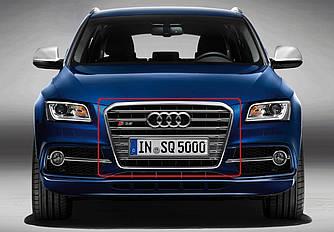 Решетка для Audi Q3 стиль SQ3 (11-14) серая