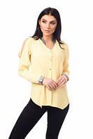 Женская блуза с оригинальными рукавами