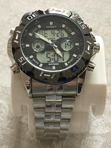 Мужские часы HPOLW FS1510 c цветными вставками