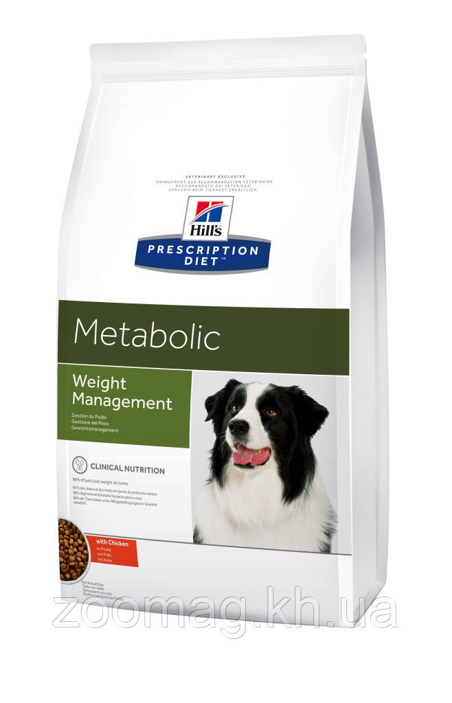 Сухой корм при ожирении у собак Prescription Diet™ Metabolic Canine 12 кг