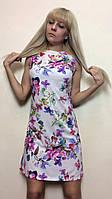 Платье летнее трапеция, без рукавов П165, фото 1