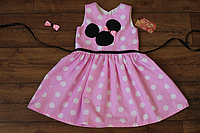 """Платье на девочку """"Розовый Минни Маус"""""""