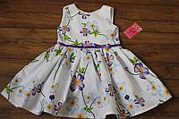 """Летне платье на девочку """"Фиолетовый цветочек"""""""