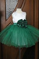 """Нарядое платье """"Зеленый фатин"""""""