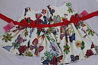 """Летнее, яркое платье на девочку !!!!""""Гламурные бабочки"""""""