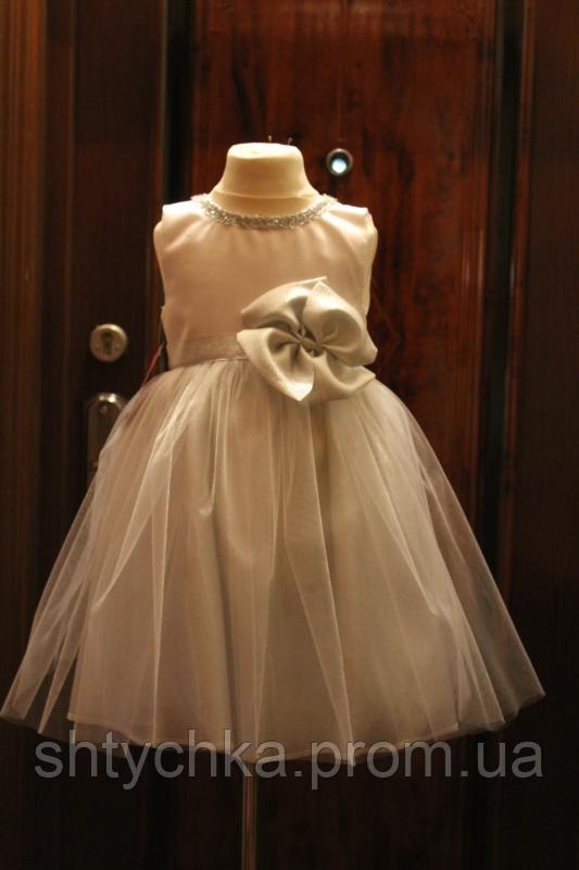 """Нарядное платье на девочку """"Новогодняя сказка"""""""