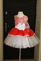 """Пышное, нарядное платье """"Красная Мадонна"""""""