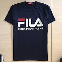 Футболка Гоша Рубчинский Фила | Бирка | Реальные фотки