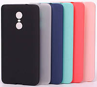 Матовый силиконовый чехол Xiaomi Redmi Note 4X Matte (Сяоми Ксиаоми Редми Ноут Ноте 4Х 4 Икс)