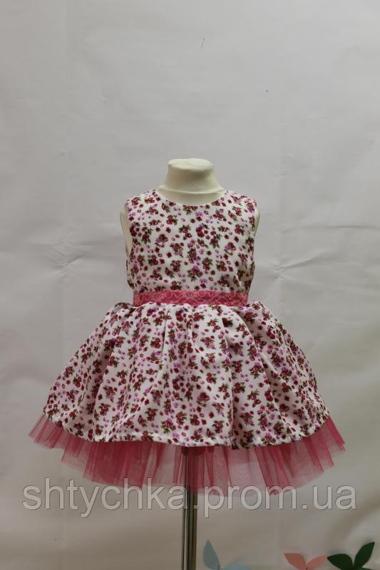 """Нарядное платье на девочку """"Мармарис"""""""