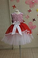 """Нарядное платье на девочку """"Мармеладка"""""""