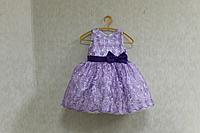 """Нарядное платье на девочку """"Сиреневый гипюрчик"""""""