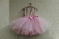 """Нарядное платье на девочку """" Гламурная нежность"""""""