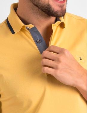 Желтая поло POLO 1802-3 разм. 52, фото 2