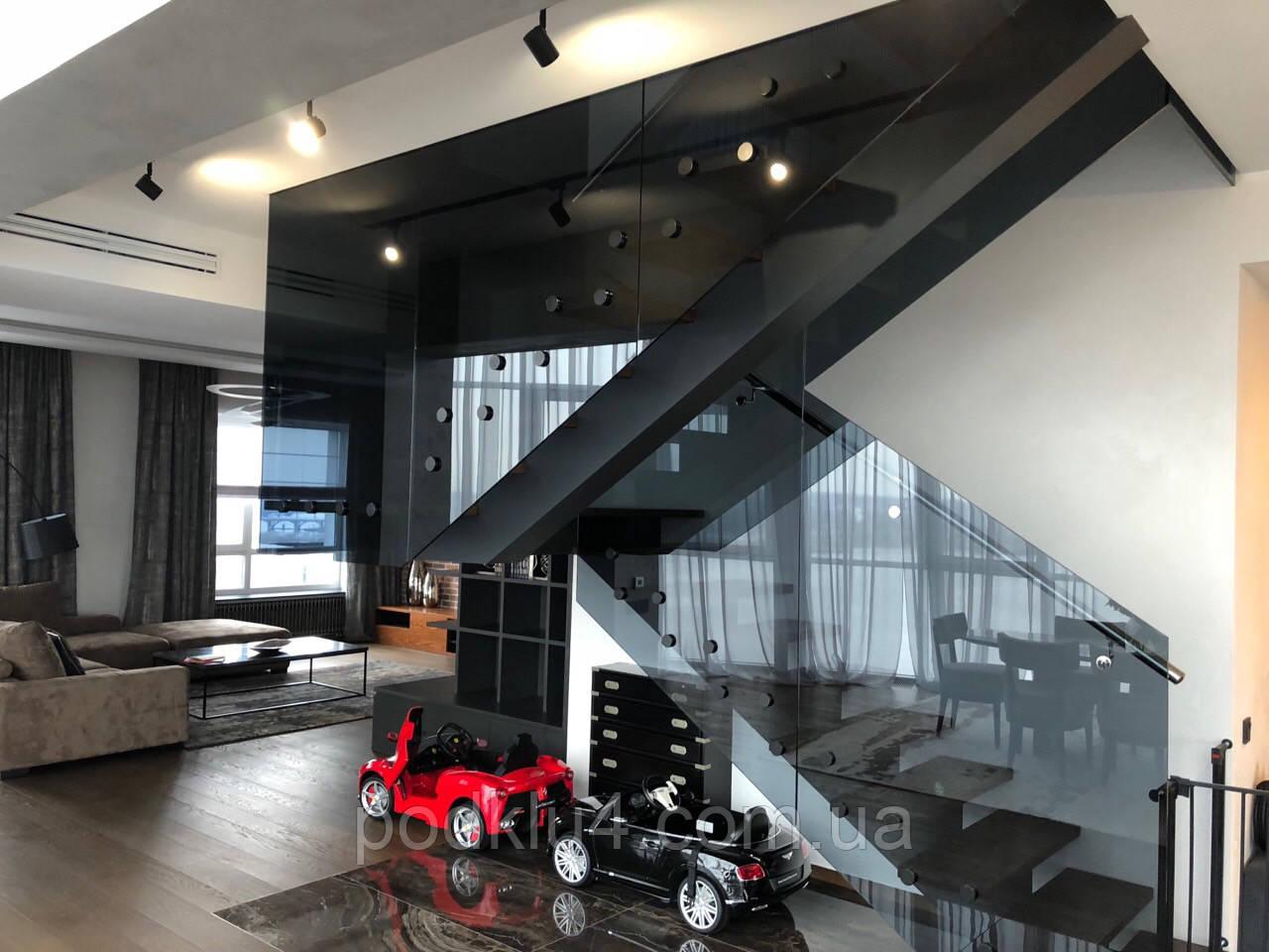Лестницы со стеклянными перилами