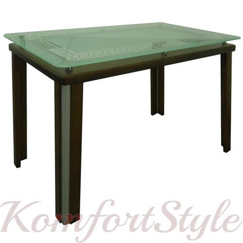 """Стол обеденный на деревянных ножках """"Гелиос 4"""""""