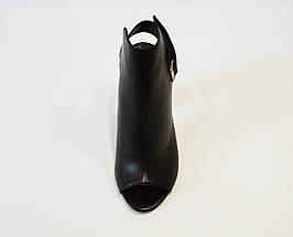 Босоножки кожаные на каблуке DaCoTa, фото 2