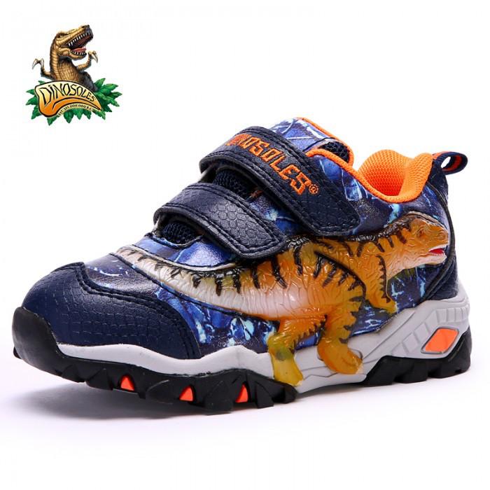 """Мигающие 3D Кроссовки «Dinosoles» T-REX, для Детей — в Категории """"Кроссовки, Кеды Детские и Подростковые"""" на Bigl.ua (683231956)"""