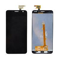 Дисплейний модуль для телефону Alcatel One Touch 6012 Idol Mini Sate в зборі з тачскріном чорний