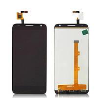 Дисплей модуль Alcatel One Touch 6036 Idol 2 mini S в зборі з тачскріном чорний