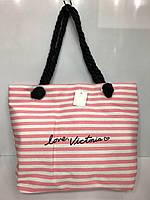 Пляжная сумка на канатах  Love Victoria