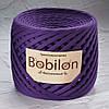 Трикотажная пряжа Bobilon Maxi (9-11мм), фиолетовый цвет