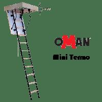 Чердачная лестница Mini Termo 80x70 Oman