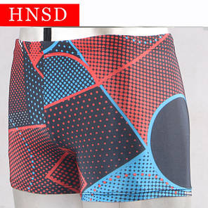 Плавки чоловічі купальні HNSD-5907 червоний, фото 2