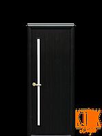 Межкомнатные двери Новый Стиль Глория ПВХ (венге)