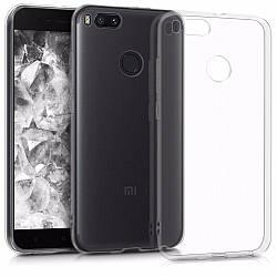 Прозрачный Чехол Xiaomi Mi A1 (ультратонкий силиконовый) (Сяоми Ксиаоми Ми А1)