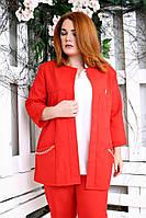 Кардиган женский Манго красный 018_179677, фото 1