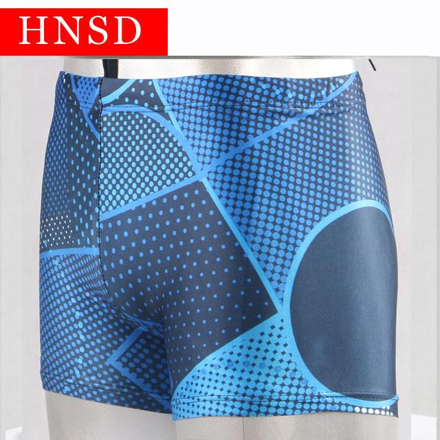 Плавки чоловічі купальні HNSD-5907 синій