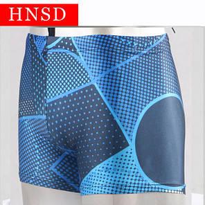 Плавки чоловічі купальні HNSD-5907 синій, фото 2