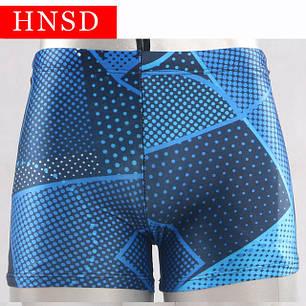 Плавки мужские купальные HNSD-5907 синий, фото 2