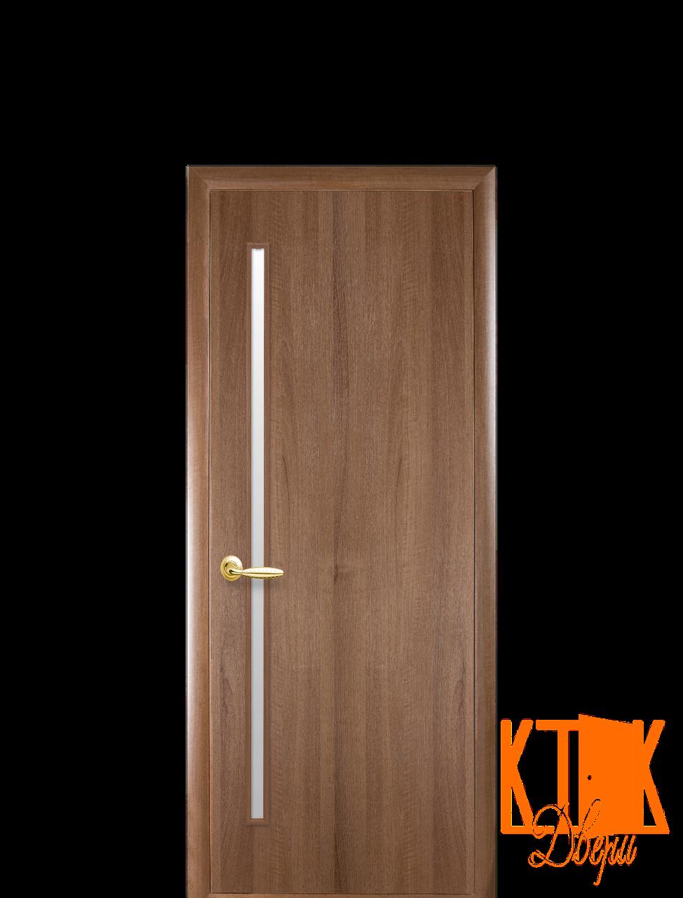 Межкомнатные двери Новый Стиль Глория ПВХ (золотая ольха)