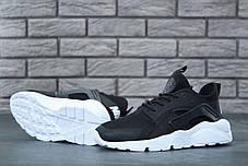 Кроссовки женские Nike Huarache Ultra черные топ реплика, фото 2